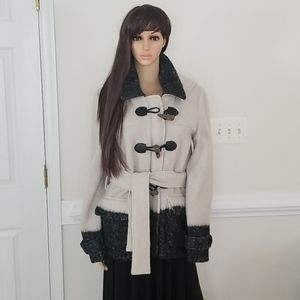 NEW Adam Lippes Blanket Duffle Coat Size M $695,.+